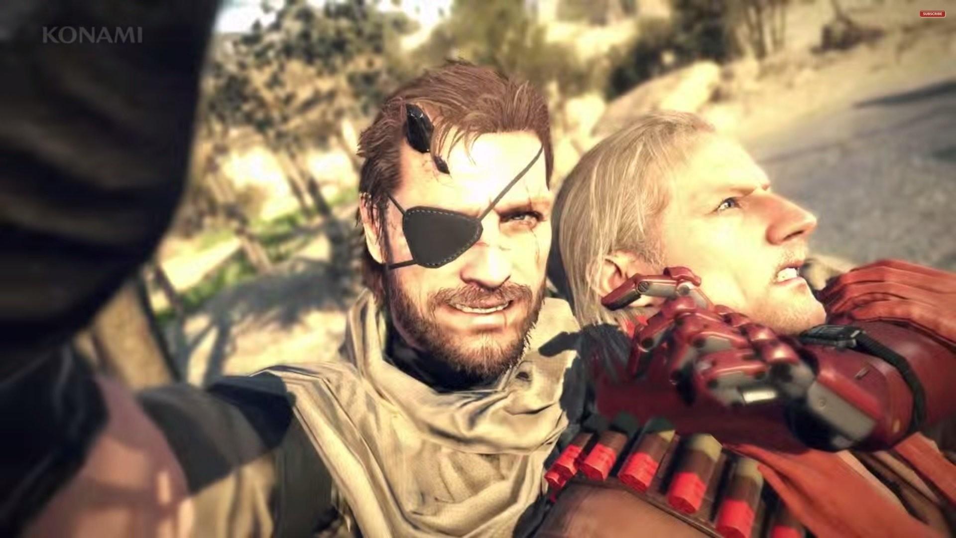 Revolver Ocelot Wallpaper Snake Metal Gear Solid 5 The Phantom