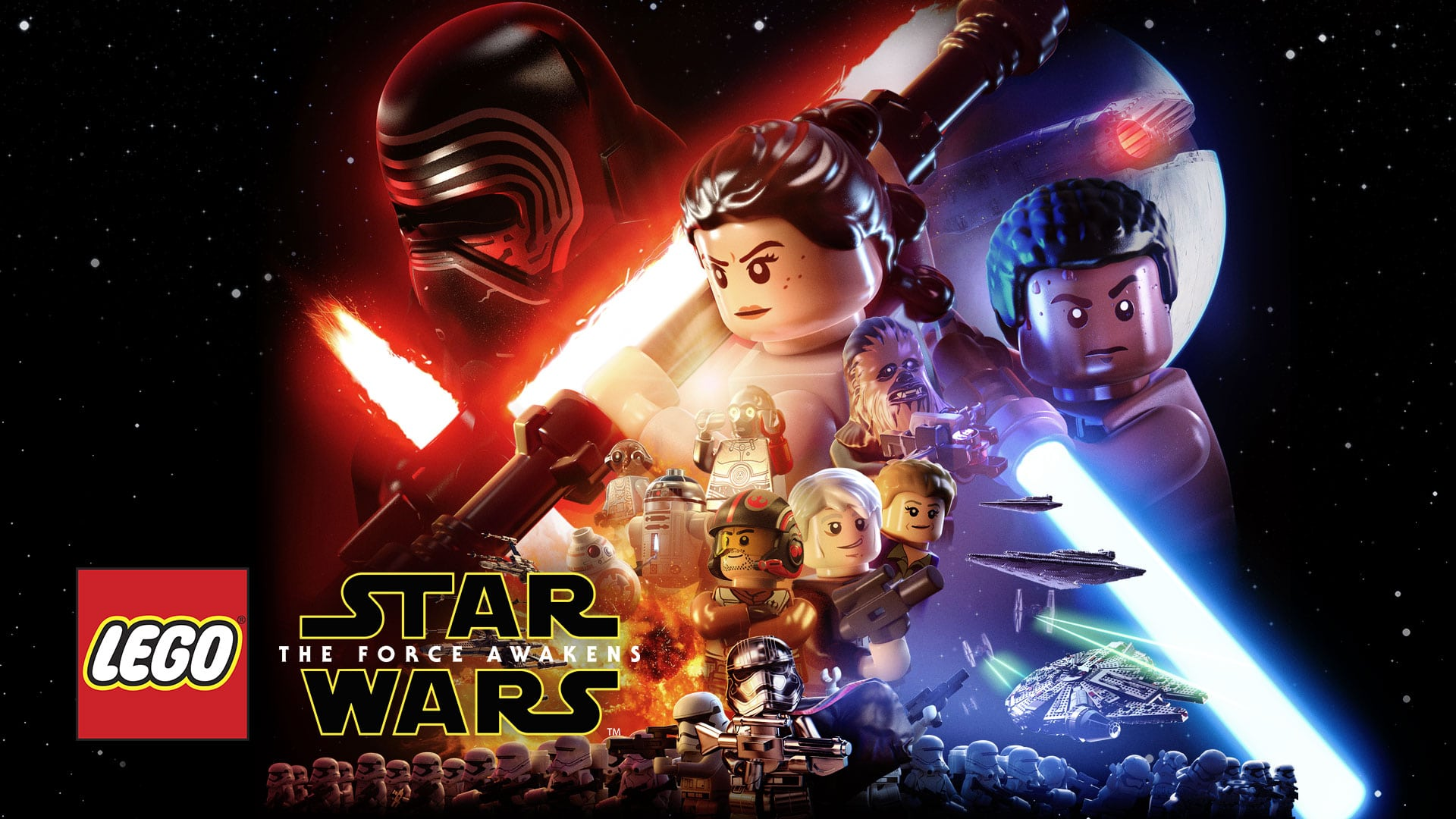 Star Wars Wallpapers Lego Star Wars The Force Awakens Game