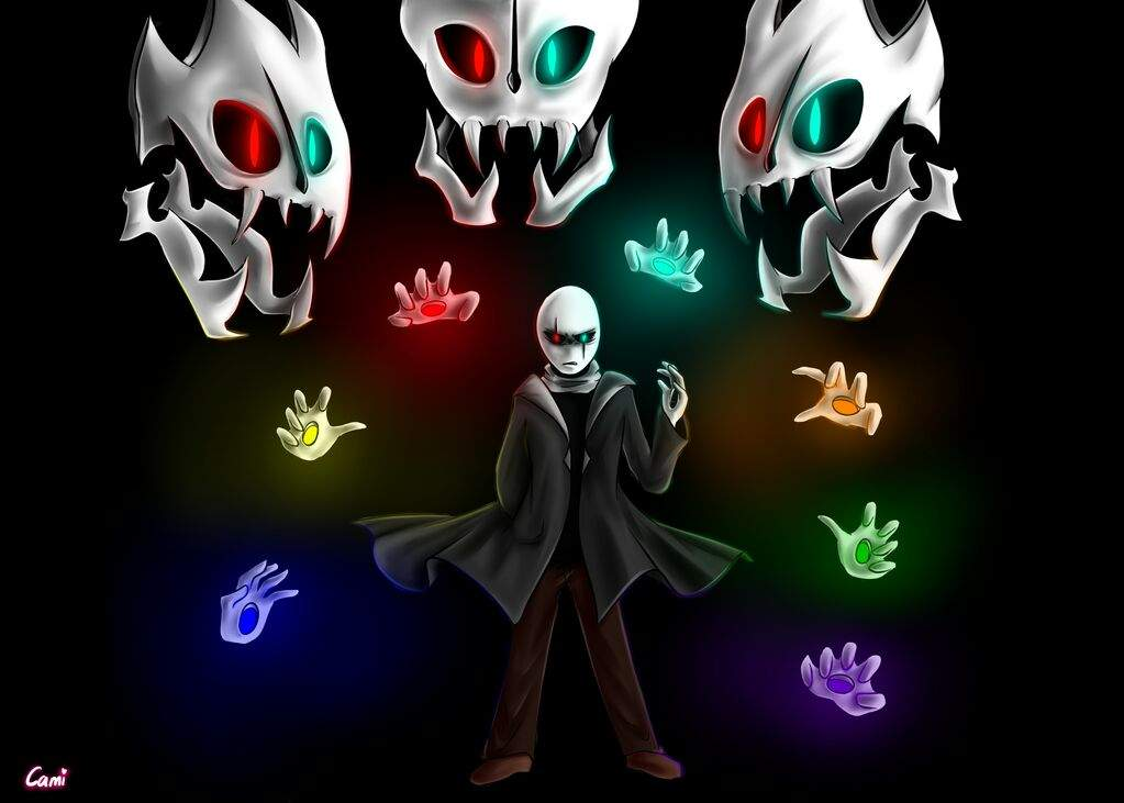 Gaster From Glitchtale Glitchtale Gaster 1309547 Hd