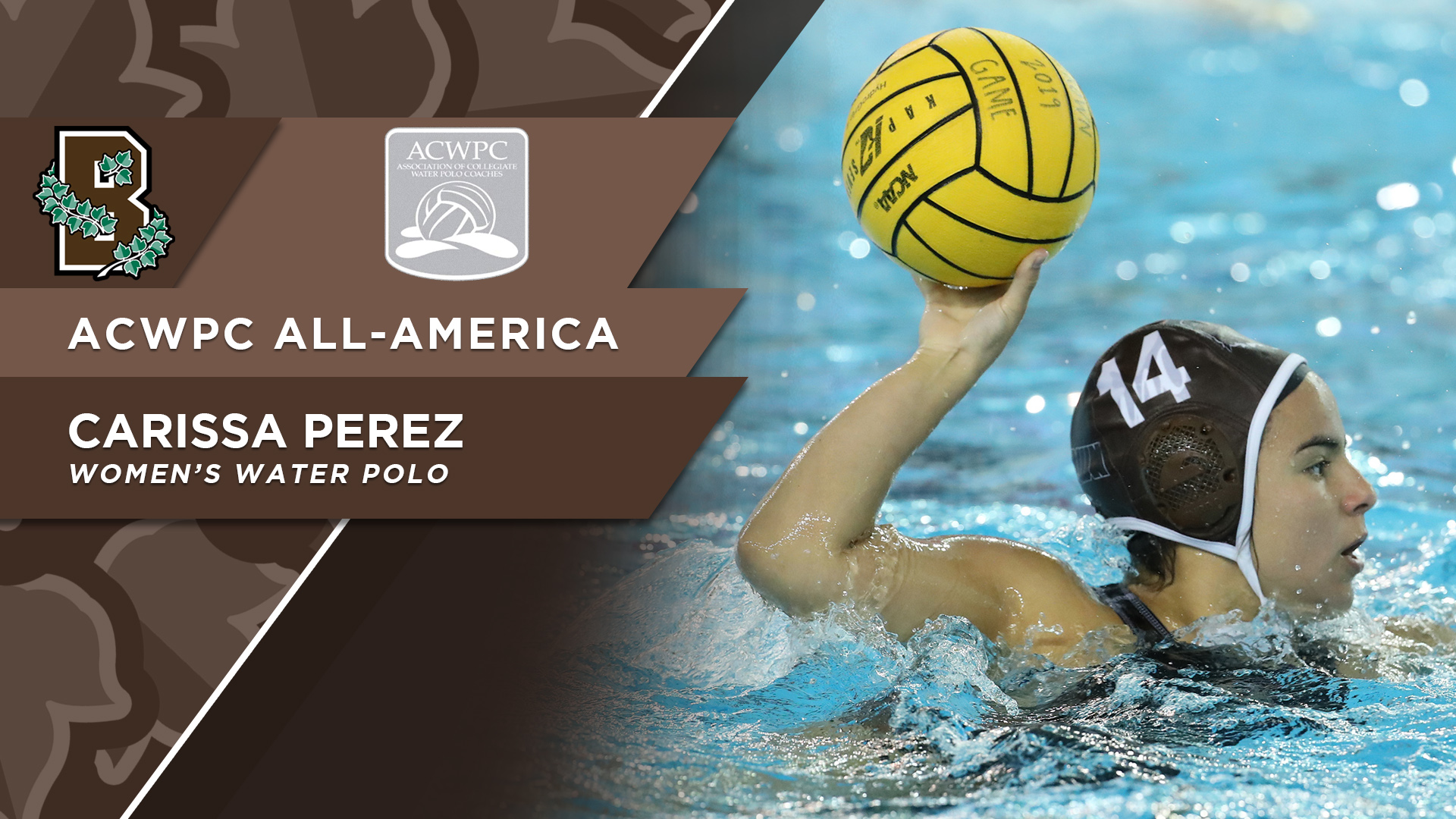 05 30 19 Perez All America - Brown University Hockey , HD Wallpaper & Backgrounds