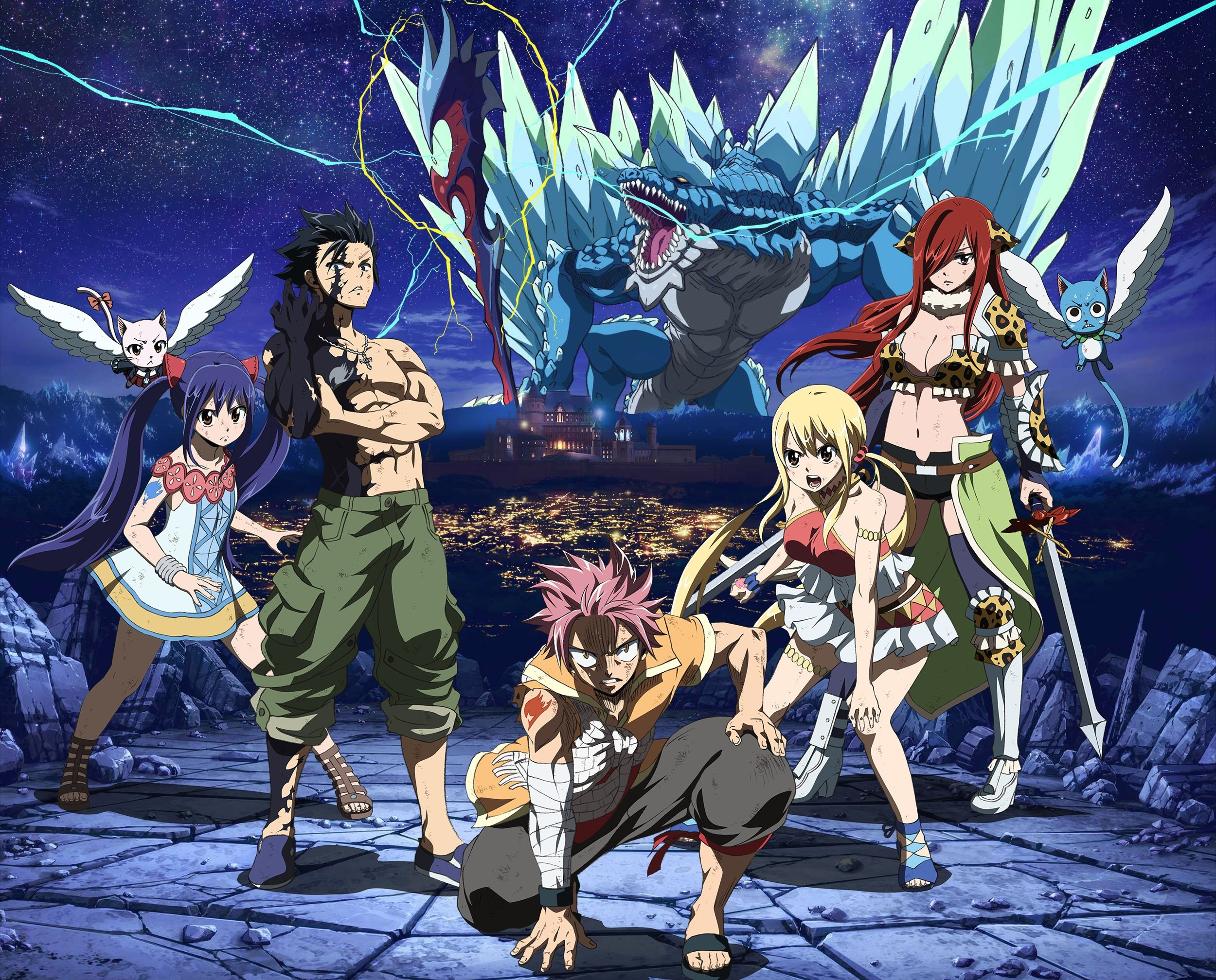 Fairy Tail Hd Wallpaper Fairy Tail Dragon Cry 1310762 Hd