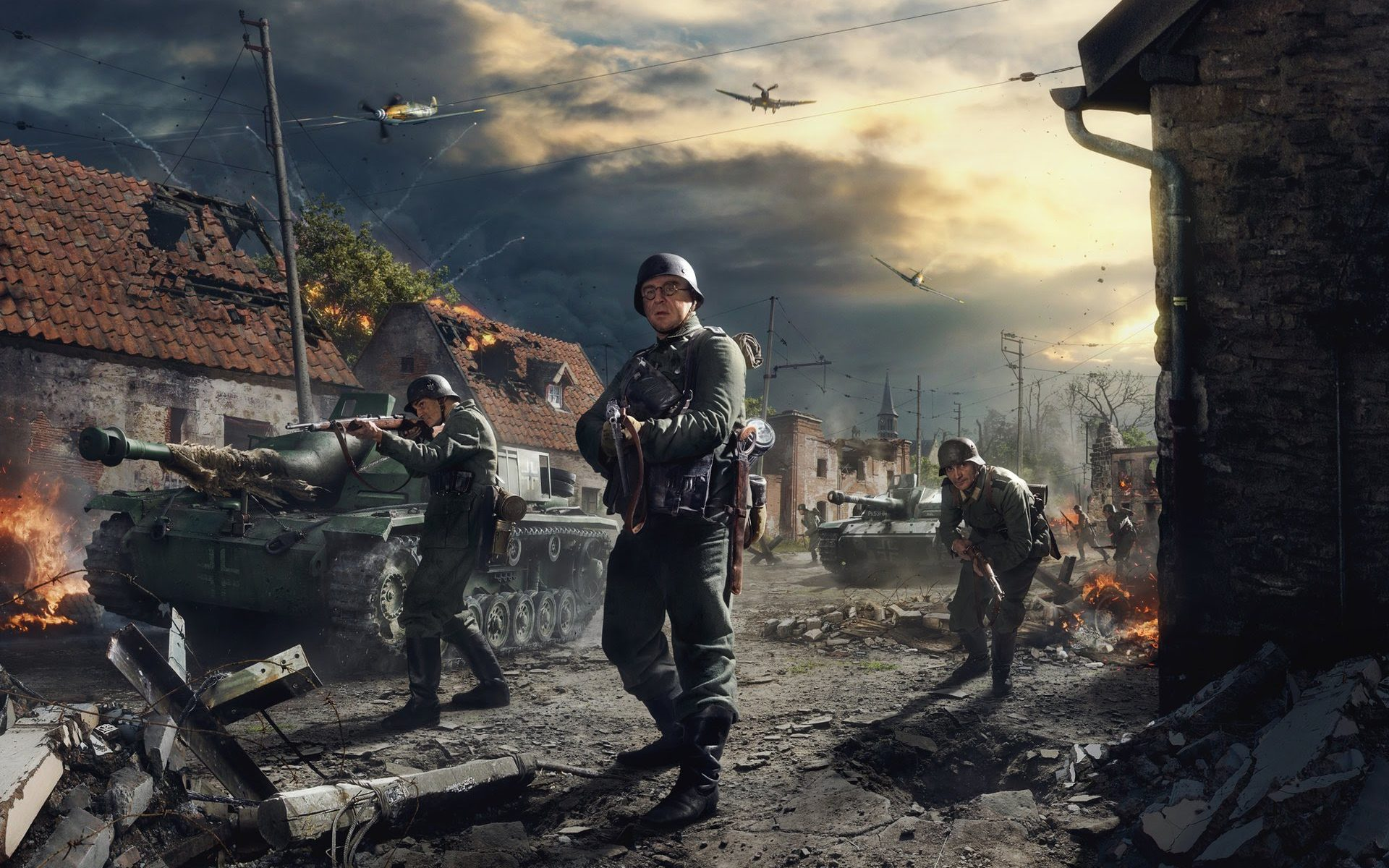 So Battlefield 5 Is Going To Have A Nazi Campaign - Pc Games World War , HD Wallpaper & Backgrounds
