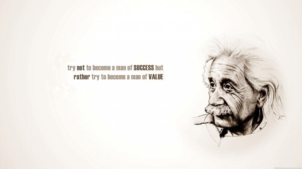 Albert Einstein Success Quotes Wallpaper - Success Desktop Backgrounds Quotes , HD Wallpaper & Backgrounds