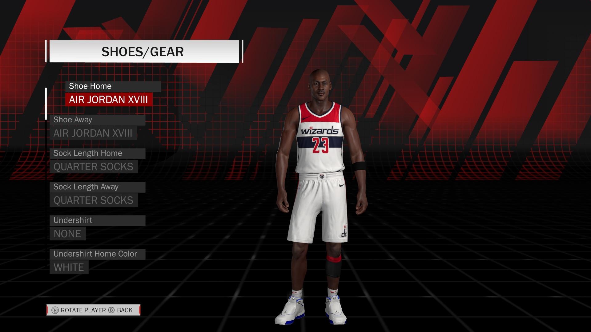 Michael Jordan Washington Wizards Dna - Nba 2k18 Generated Rookies , HD Wallpaper & Backgrounds