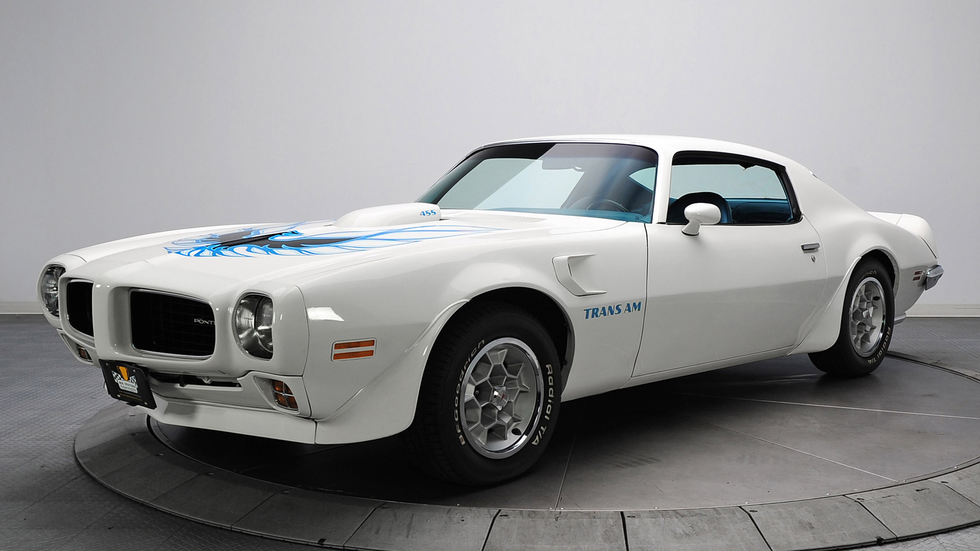 1973 Pontiac Firebird Trans Am Picture White 74 Trans Am