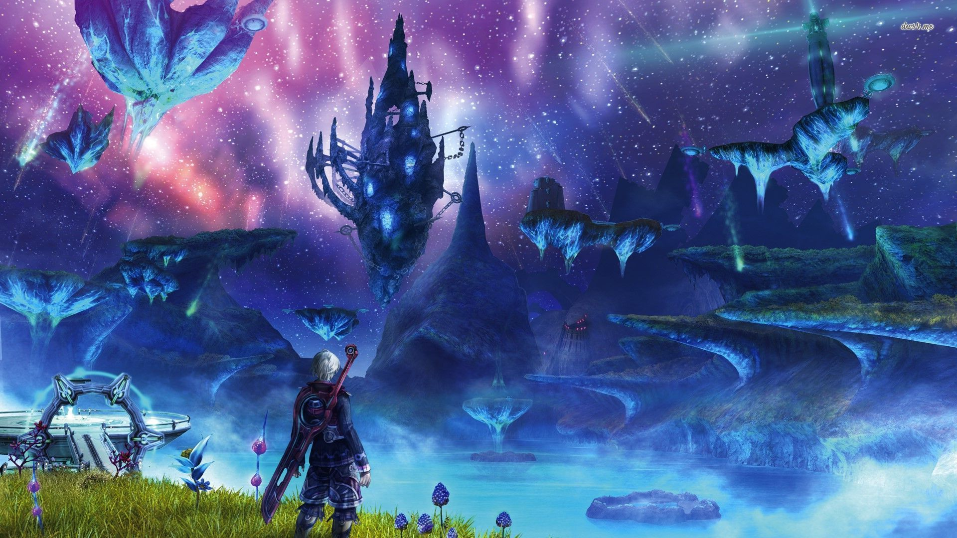 Xenoblade Chronicles Hd Wallpaper Xenoblade Chronicles
