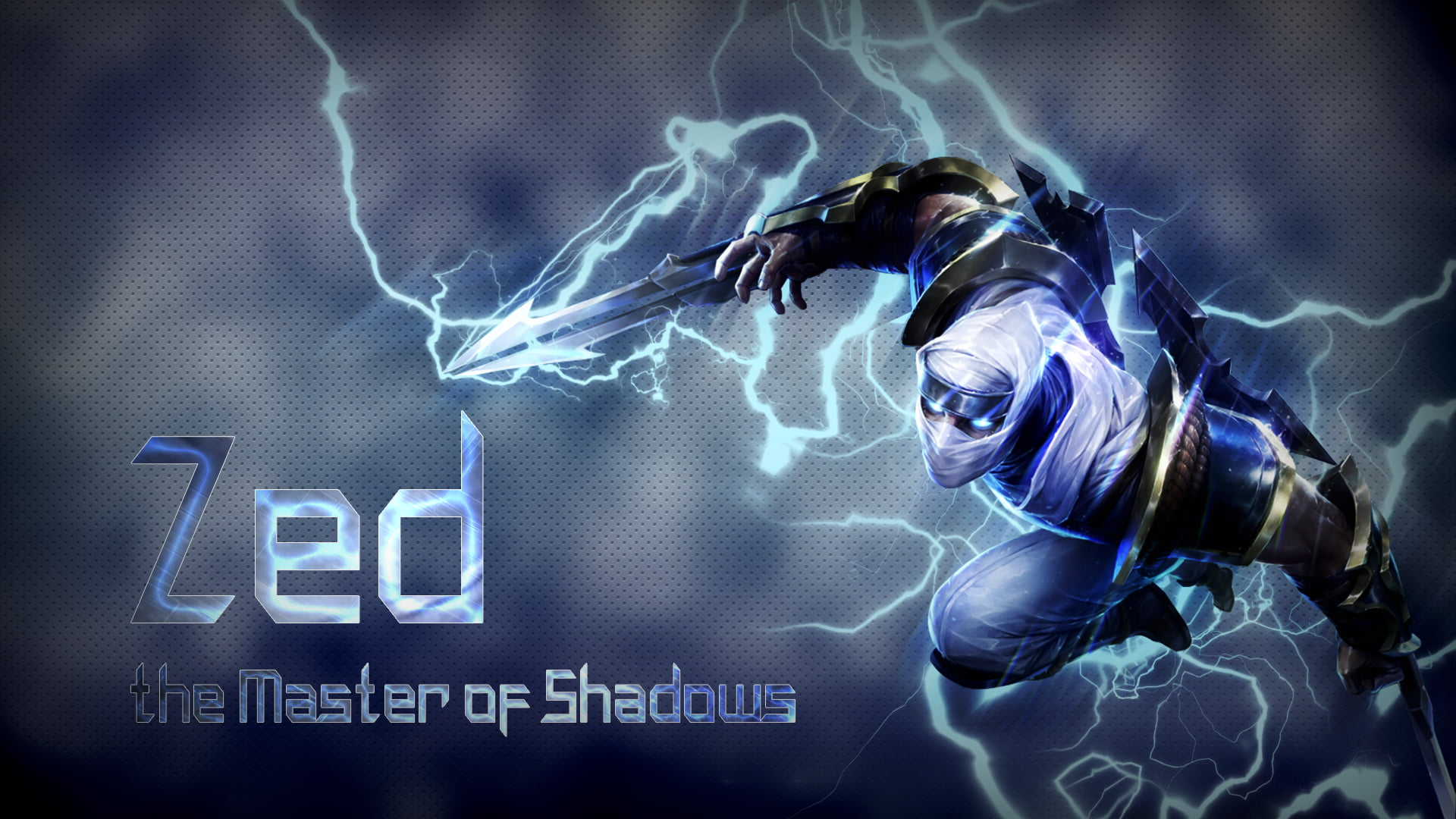Zed The Master Of Shadows Wallpaper Zed Video Games League Of