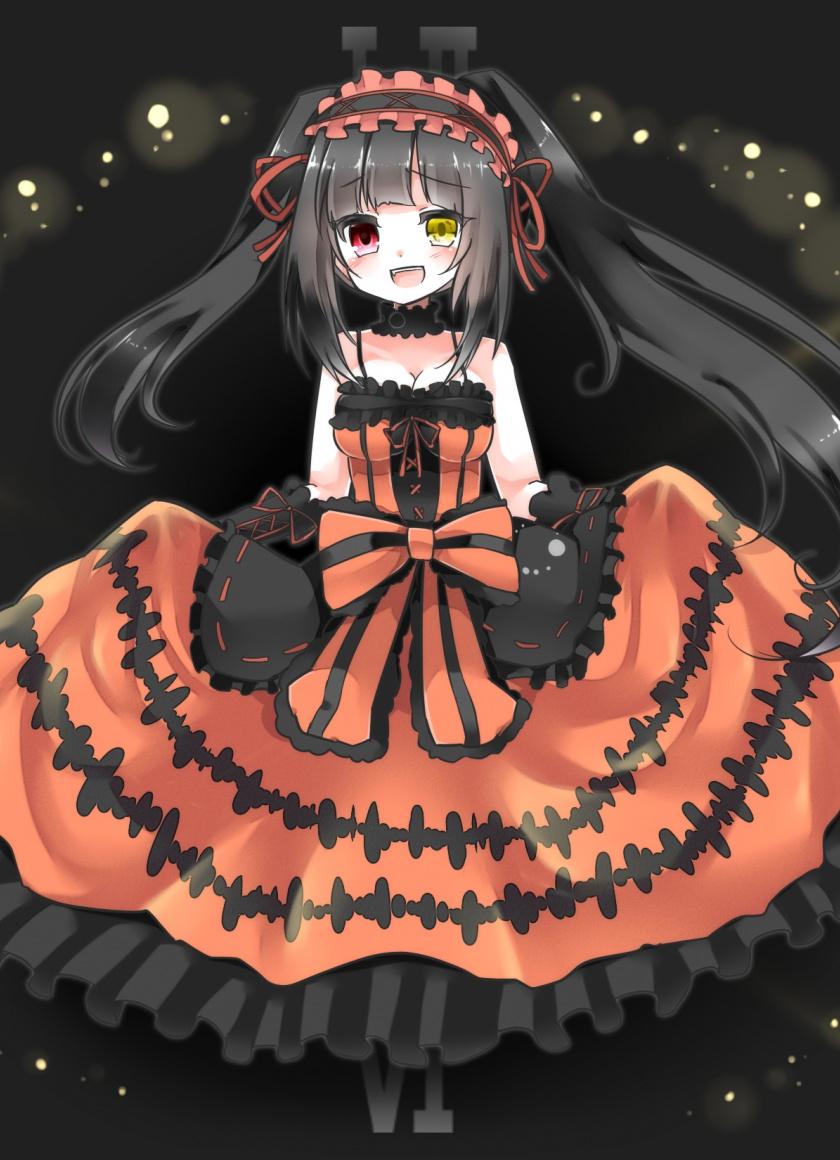 Downaload Anime Girl, Artwork, Kurumi Tokisaki, Date - Date A Live Kurumi Wallpaper Phone , HD Wallpaper & Backgrounds