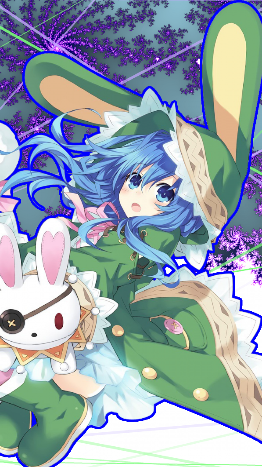 Date A Live Yoshino Loli Blue Hair Date Alive 1321266 Hd