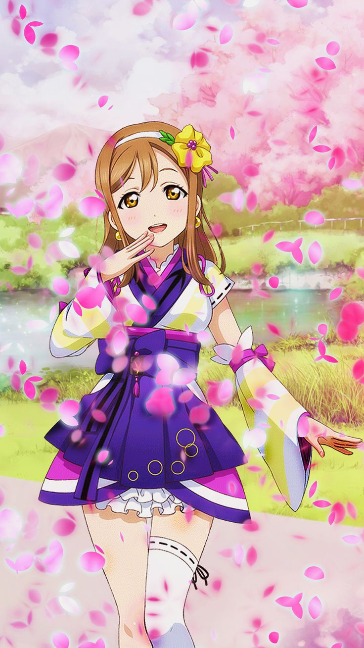 Anime Live Wallpaper Iphone 57 Pictures Falling Cherry Blossom Petals 1321418 Hd Wallpaper Backgrounds Download