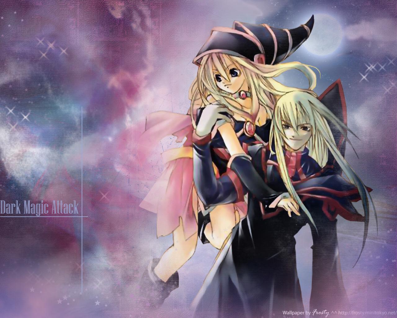 Yu Gi Oh Duel Monsters Dark Magician Dark Magician Dark