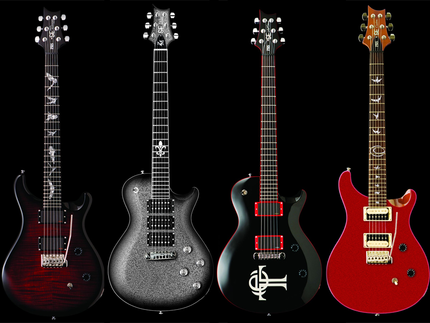 Prs Presents Five New Signature Se Guitars Prs Se