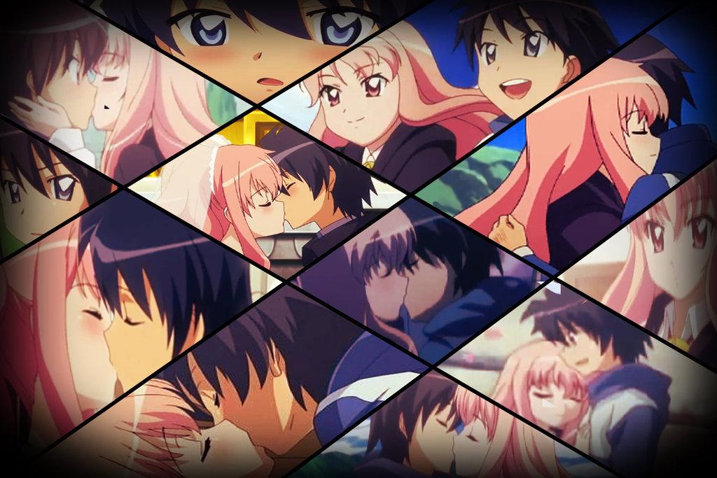 Zero No Tsukaima Wallpapers - Zero No Tsukaima Collage , HD Wallpaper & Backgrounds