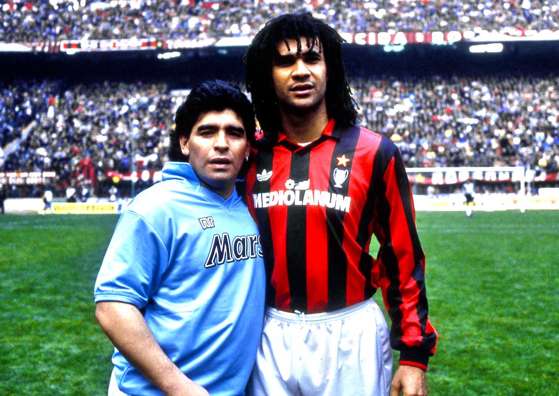 Maradona And Milan S Ruud Gullit Ruud Gullit 2019 1324797 Hd Wallpaper Backgrounds Download