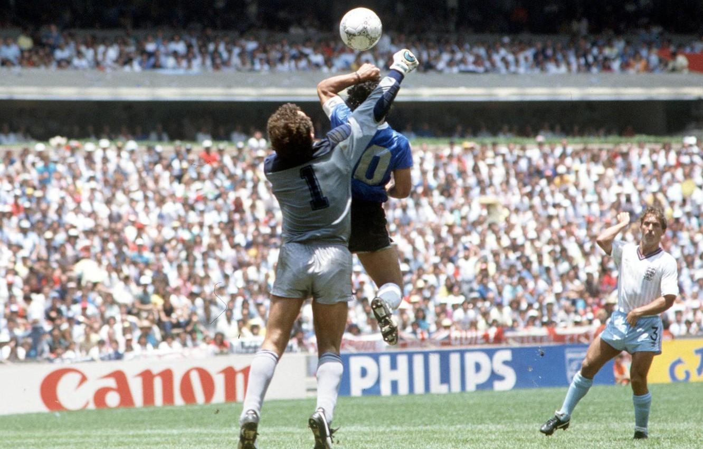 Photo Wallpaper Goal Maradona The Hand Of God The Diego Maradona Hand Of God 1324867 Hd Wallpaper Backgrounds Download