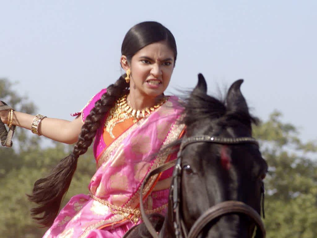 Jhansi Ki Rani - Jhasi Ki Rani On Horse , HD Wallpaper & Backgrounds