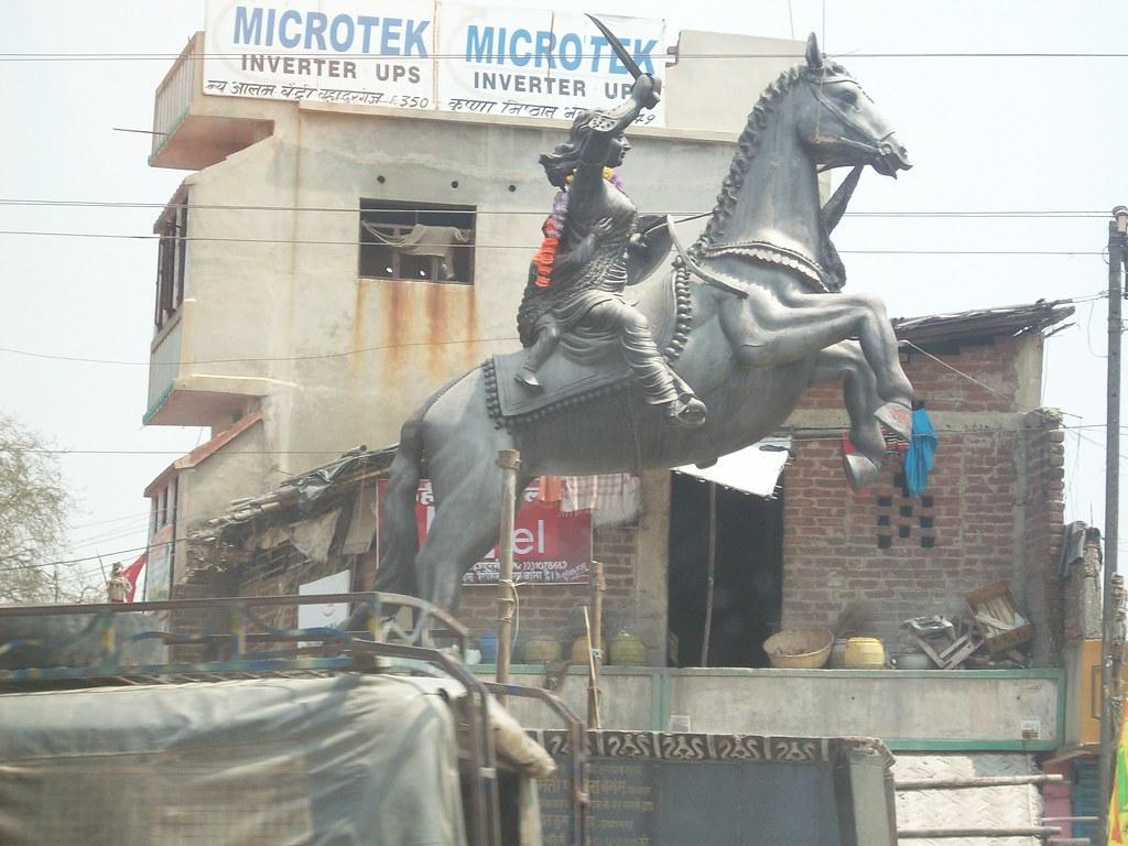 Jhansi Ki Rani Chowk, Bahadurganj, Kishanganj, Bihar, - Stallion , HD Wallpaper & Backgrounds