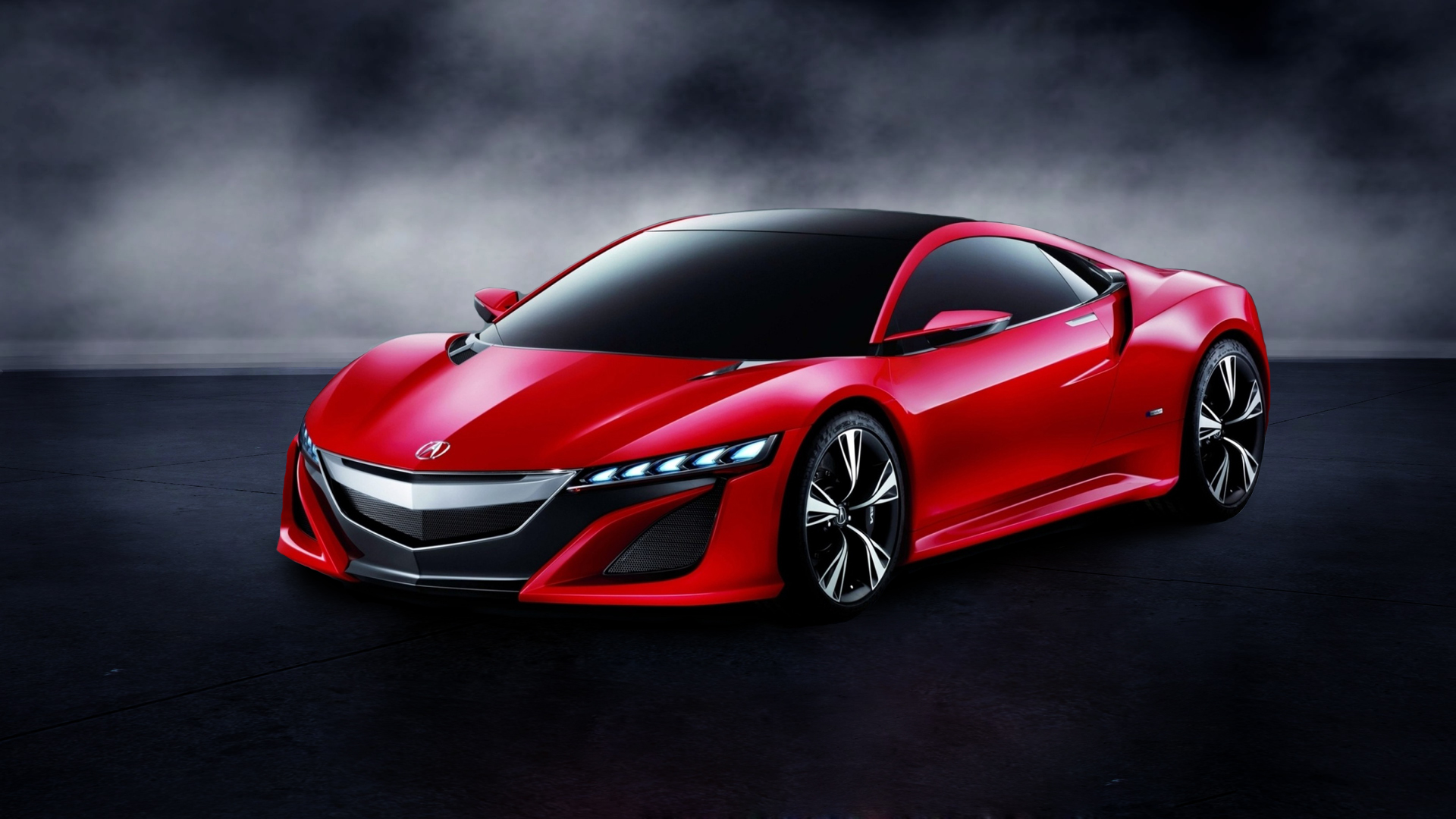 Acura Nsx Hd Black Wallpaper Download Honda Nsx 2017 Red