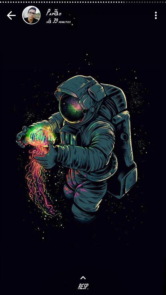 Astronaut Phone , HD Wallpaper & Backgrounds