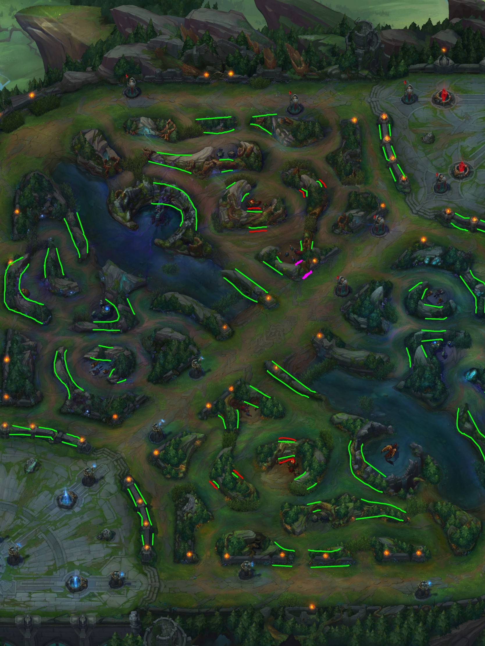 Download Wallpaper Jungle League Of Legends Map 1328514 Hd