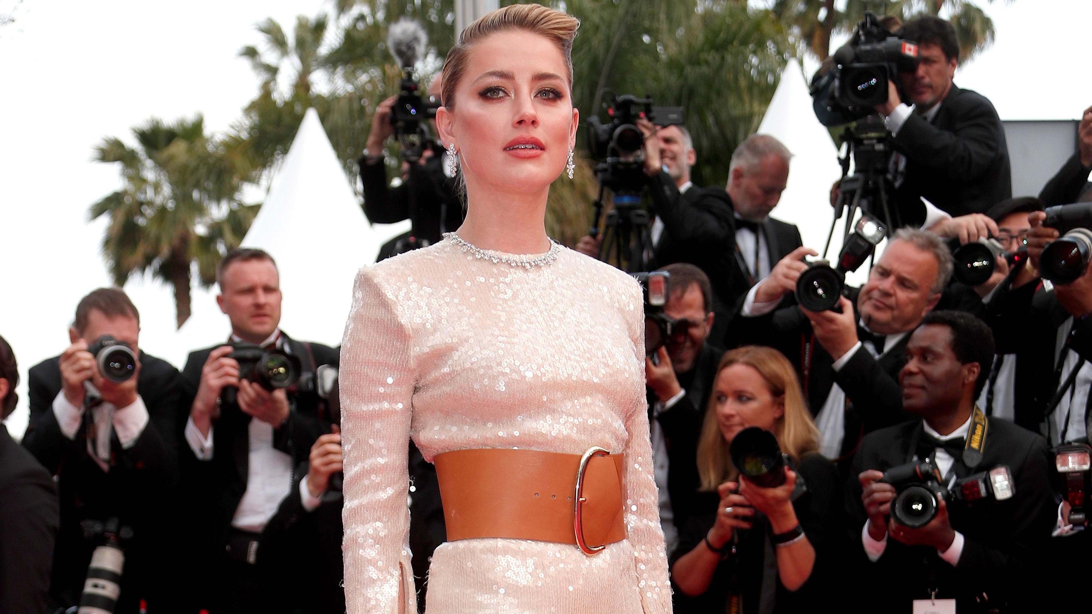 Amber Heard Celebrity In Cannes Film Festival 2019 - Amber Heard Cannes , HD Wallpaper & Backgrounds