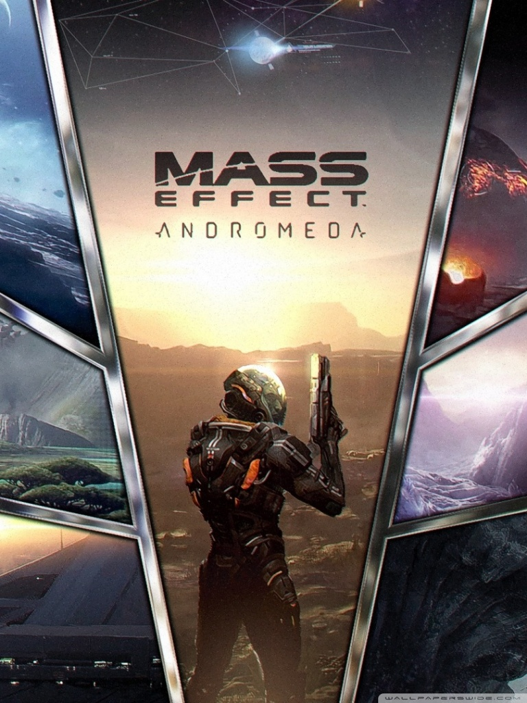Mass Effect Andromeda Mobile 1333261 Hd Wallpaper
