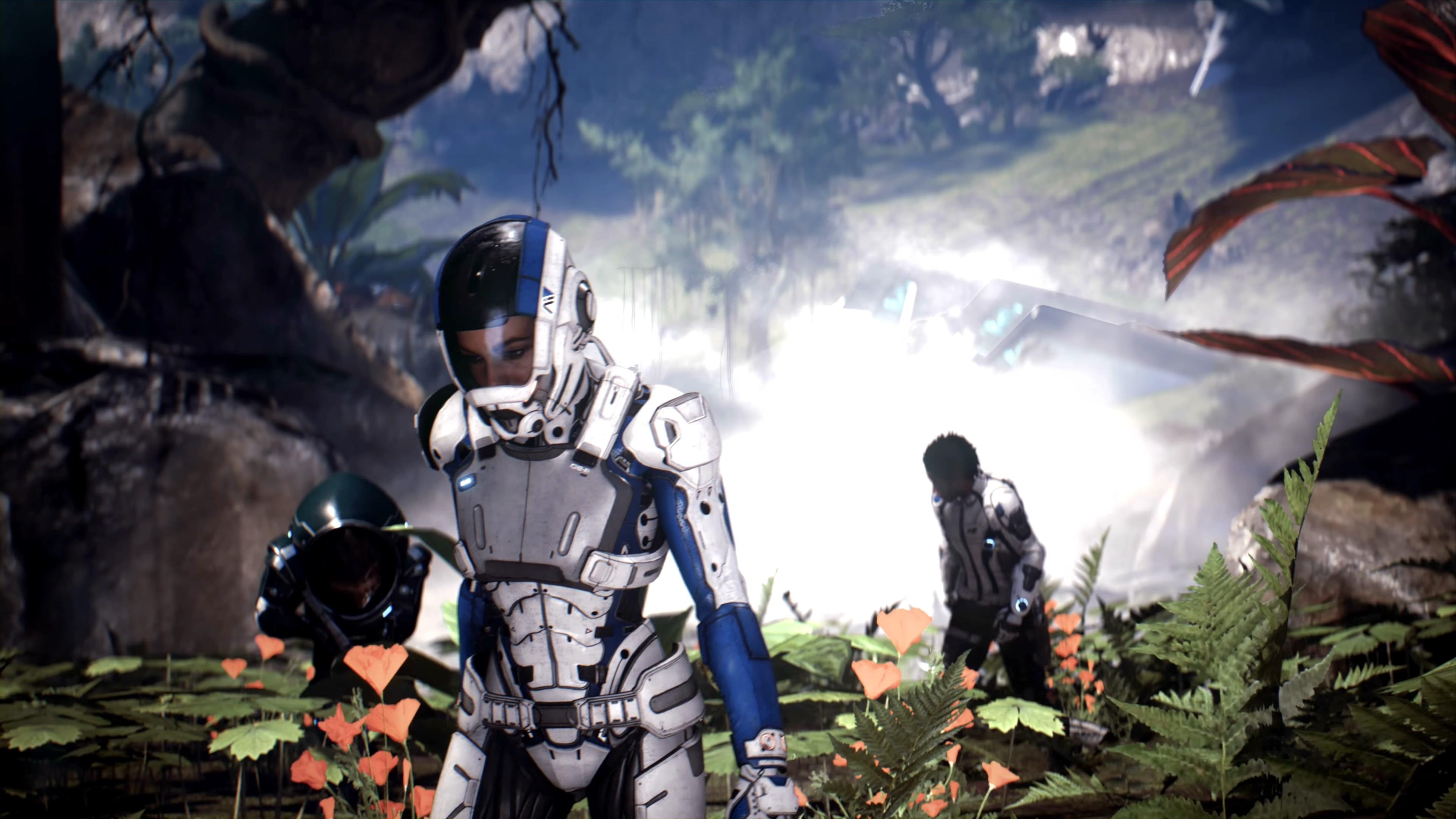 Andromeda 4k Ultra Hd Wallpaper Mass Effect Andromeda Sara