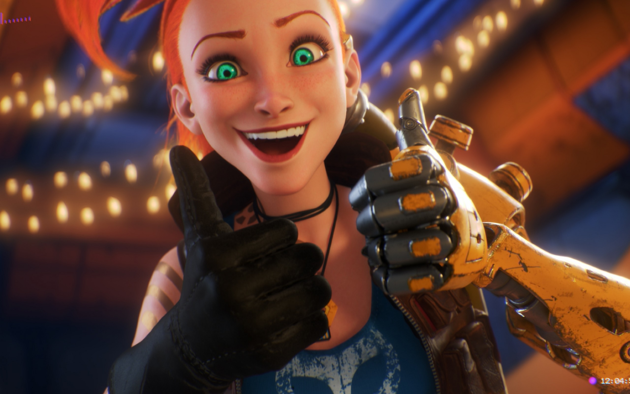League Of Legends Jinx Thumbs Up Smiling League Of