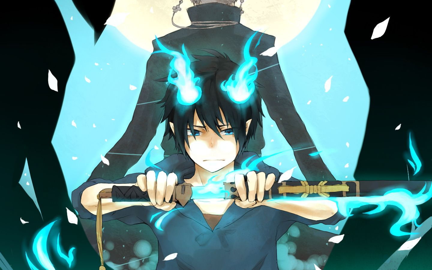Ao No Exorcist Images Rin Hd Wallpaper And Background Ao No