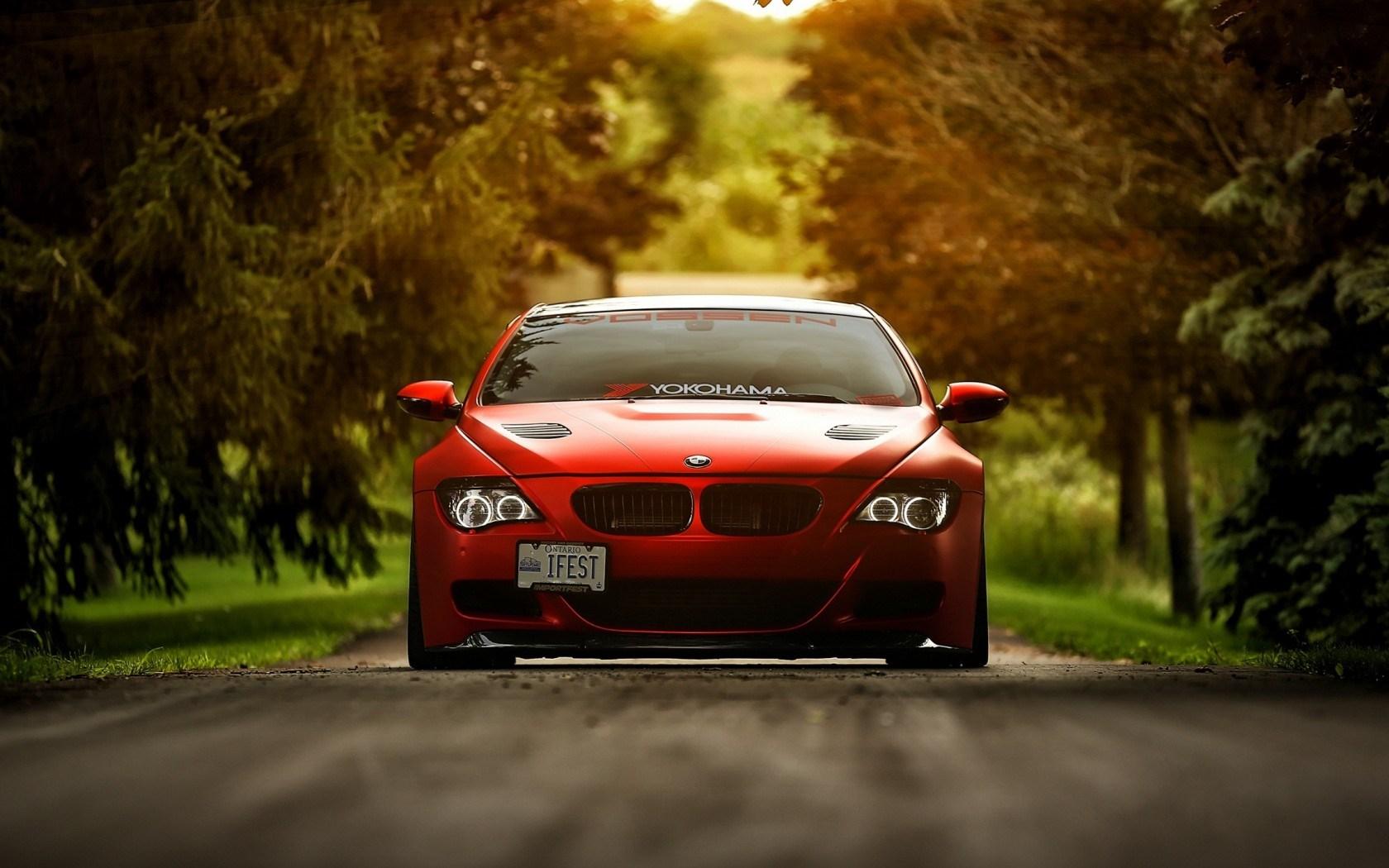 Red Wallpaper Car Bmw