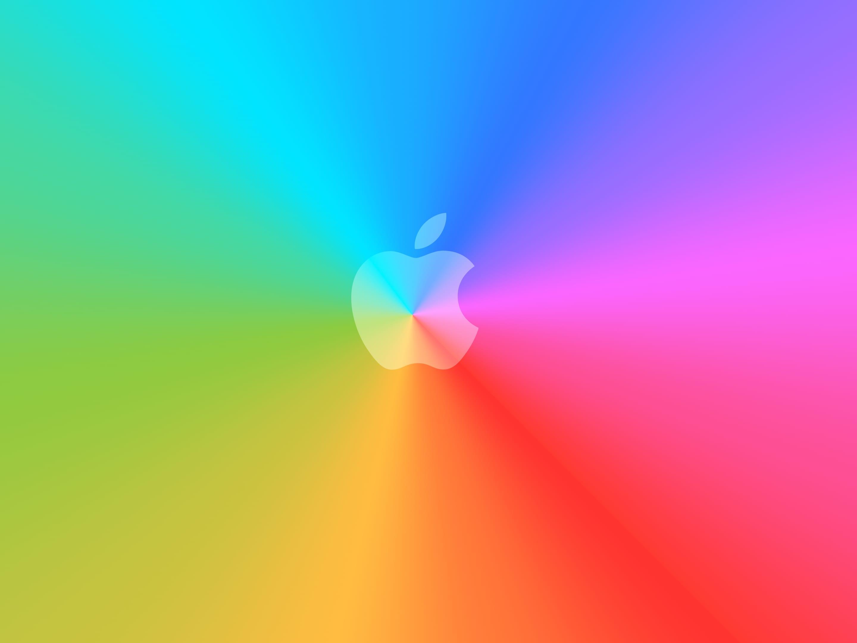 03 Wallpaper 30 Aniversario Mac - Blue Apple Logo Wallpaper For Iphone 6 , HD Wallpaper & Backgrounds