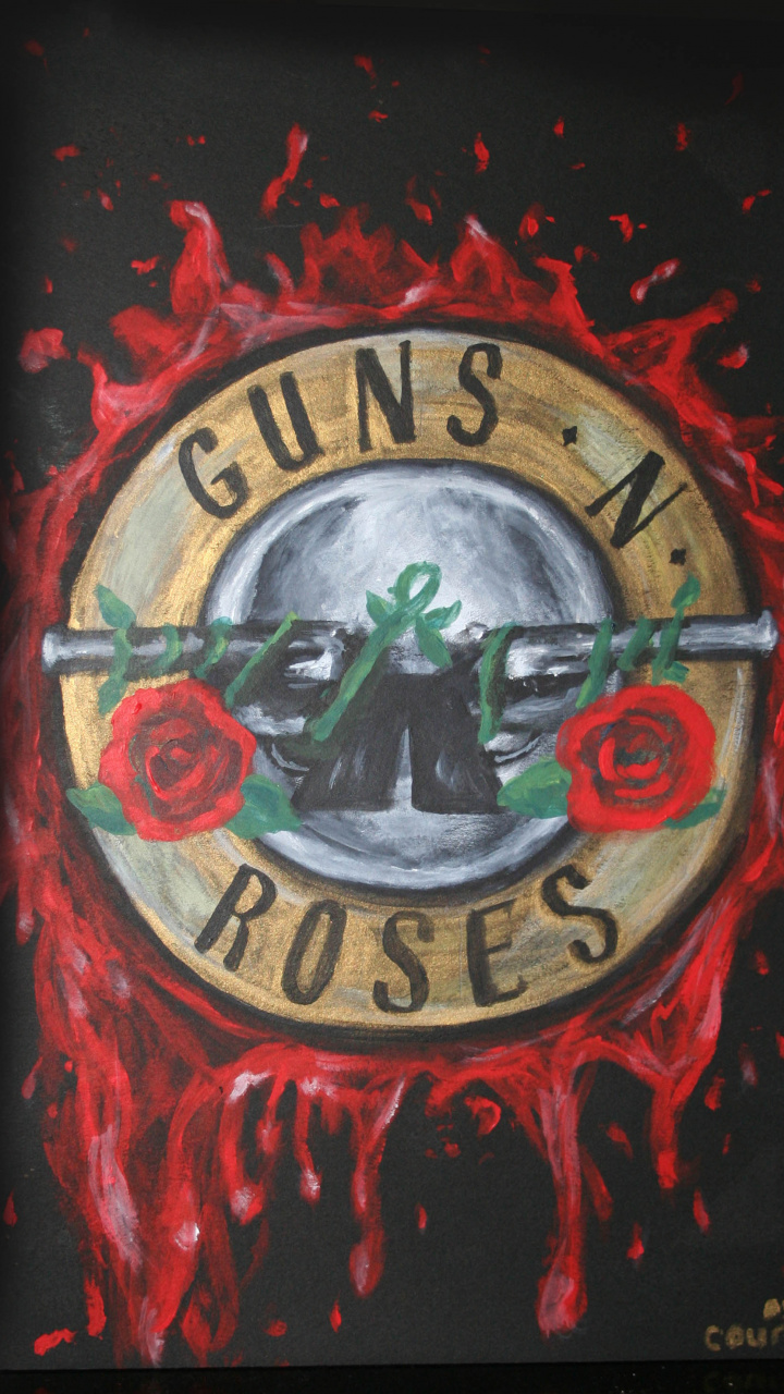 Creative Arts Music Art Painting Guns N Roses Hd