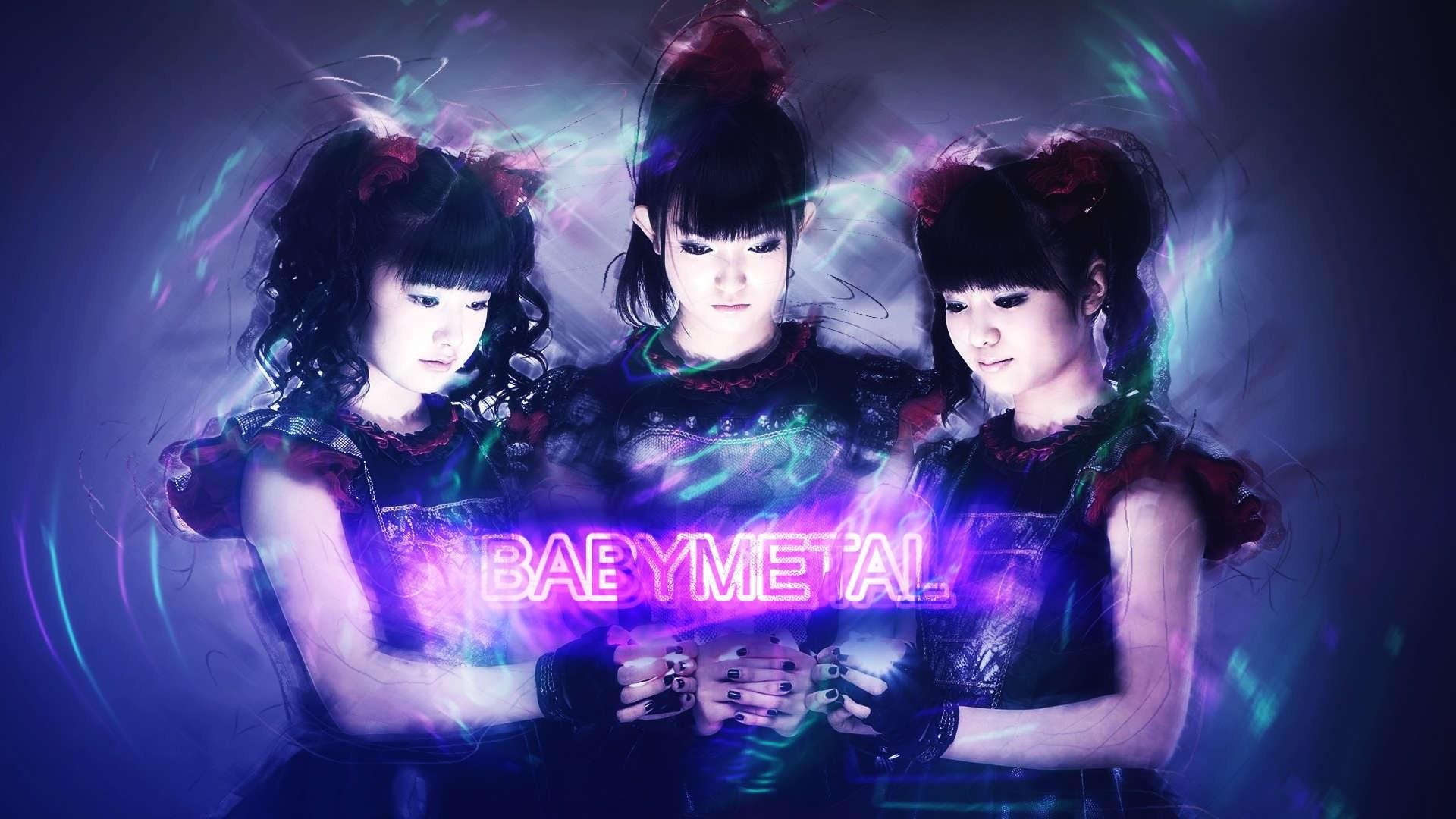 Yui Mizuno Suzuka Nakamoto Moa Kikuchi J Pop Babymetal Babymetal Hd Wallpaper Backgrounds Download