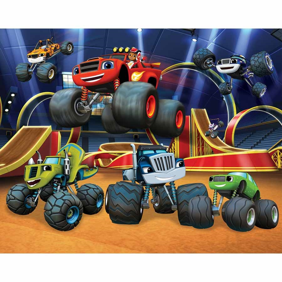 Larger Photo Blaze Et Les Monster Machines 1340982 Hd
