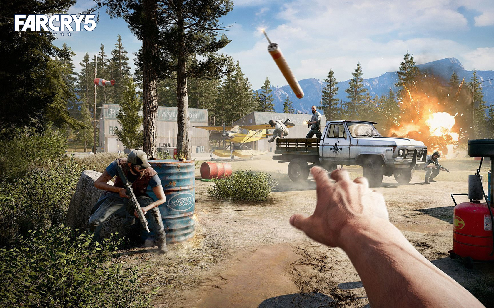 Far Cry 5 Bug 1344805 Hd Wallpaper Backgrounds Download