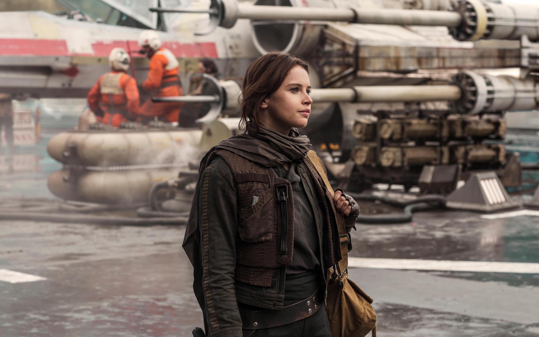 Felicity Jones Rogue One Wallpaper - Star Wars Rogue One Felicity Jones , HD Wallpaper & Backgrounds
