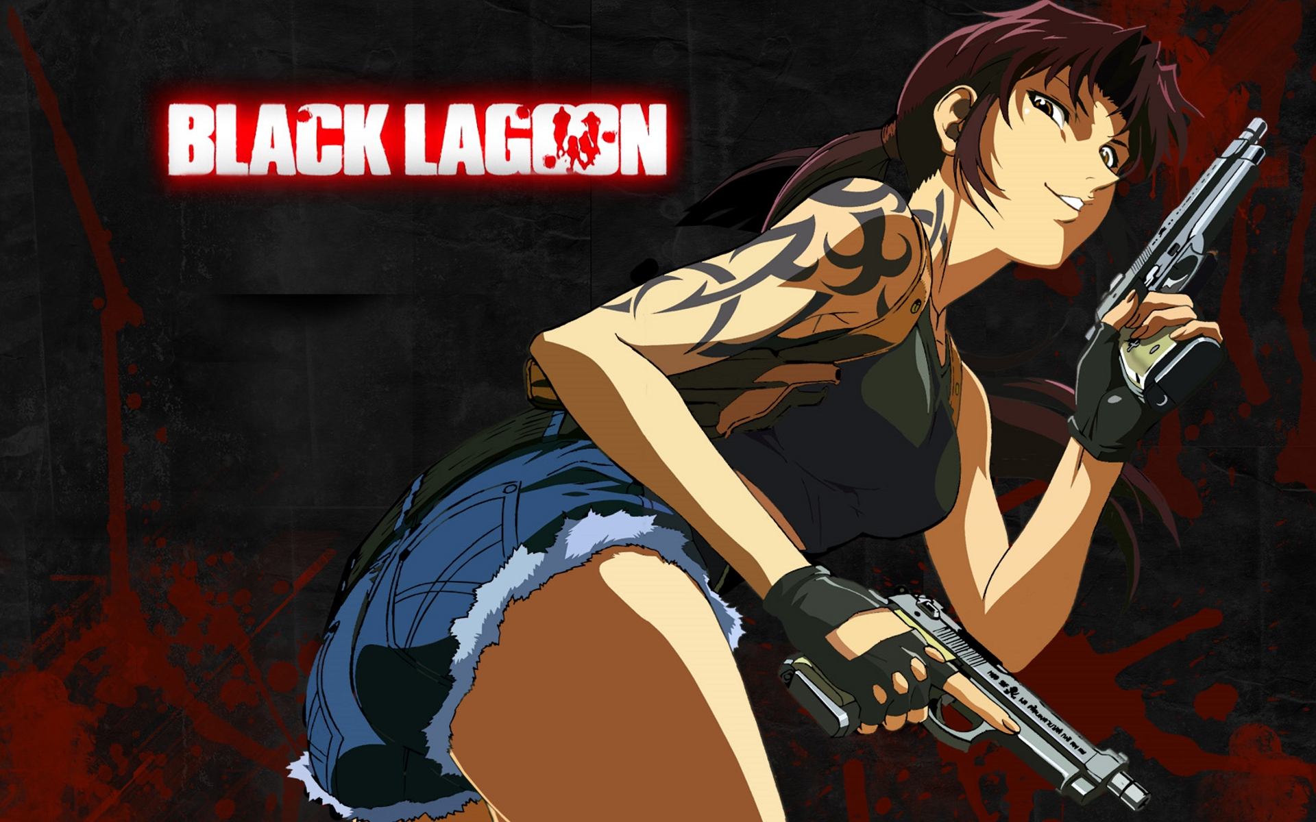 Black Lagoon Wallpaper Revy Black Lagoon Hot 1346239 Hd