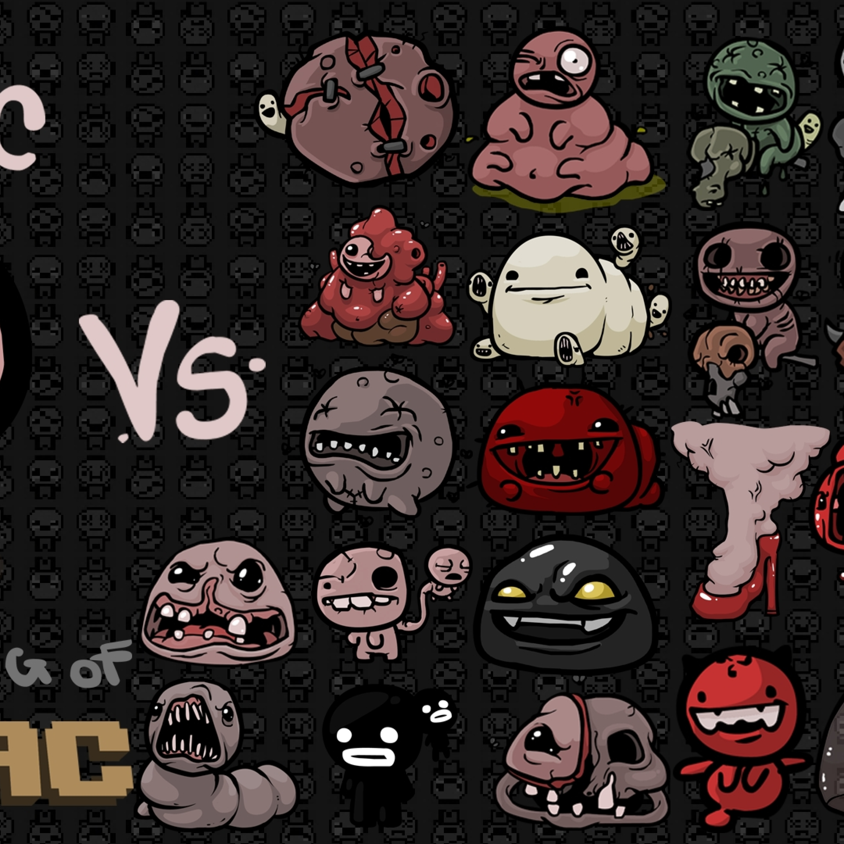 The Binding Isaac Characters Tears Full Hd Wallpaper Jefes