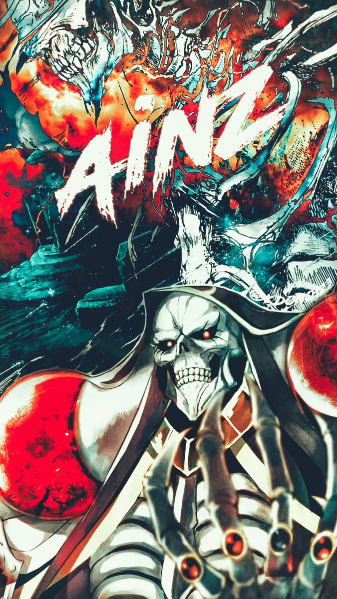 My Design Sorcerer King Ainz Ooal Gown Ainz Ooal Gown Wallpaper Overlord Ainz 1346895 Hd Wallpaper Backgrounds Download