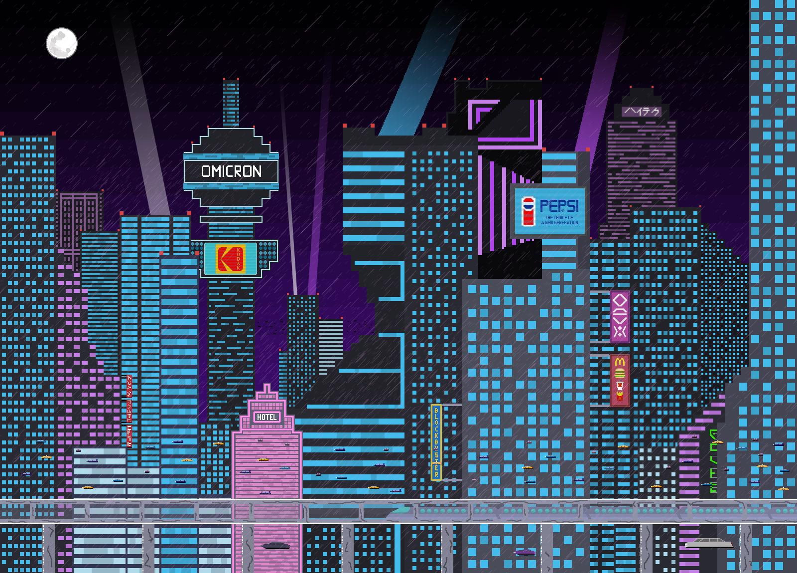 Pixels, Pixel Art, Pixelated, Building, Skyscraper, - Skyscrapers Pixel Art , HD Wallpaper & Backgrounds