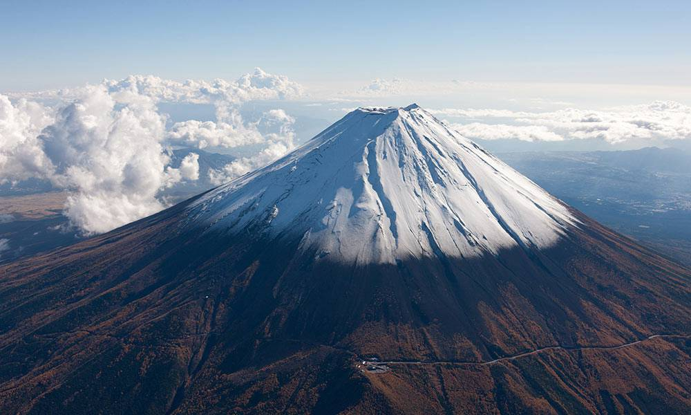 Mt Fuji Wallpaper - Mount Fuji Mountains , HD Wallpaper & Backgrounds
