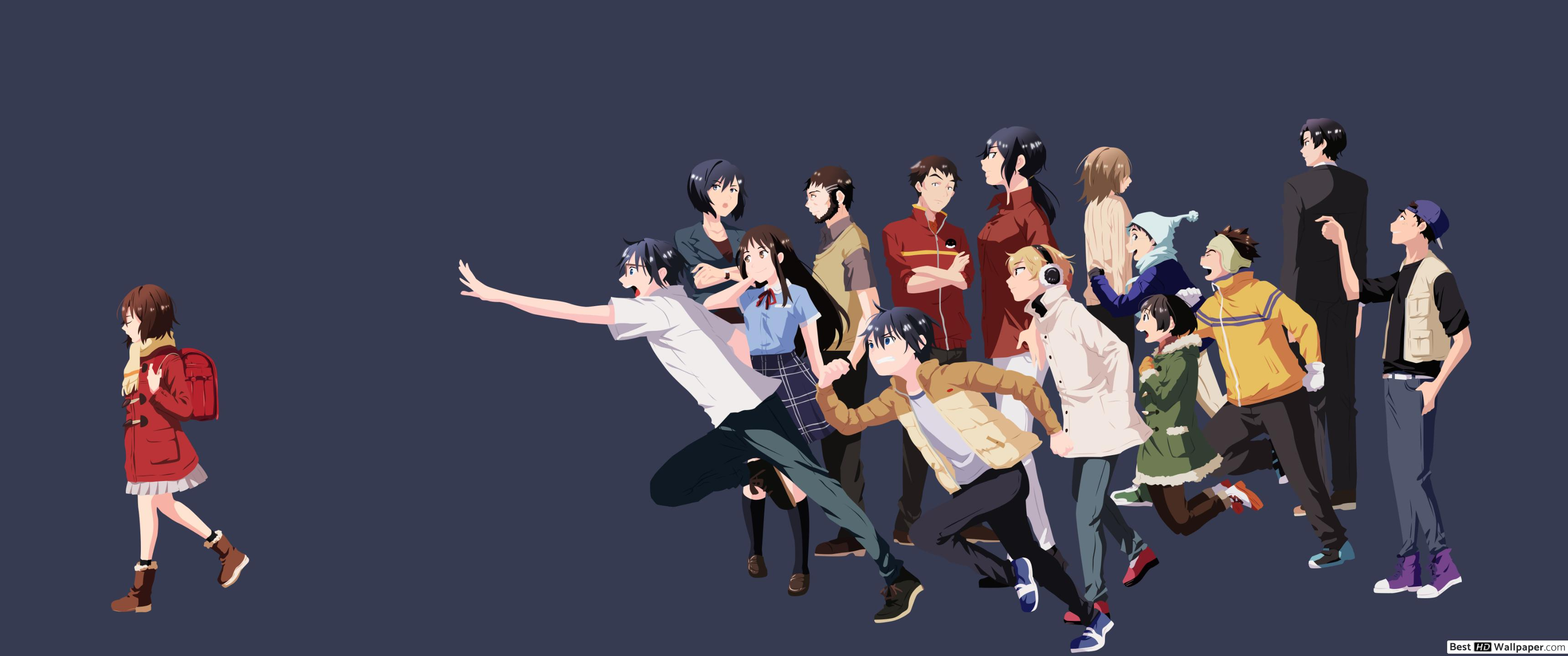 Wide - Erased Anime All Characters (#1349430) - HD ...