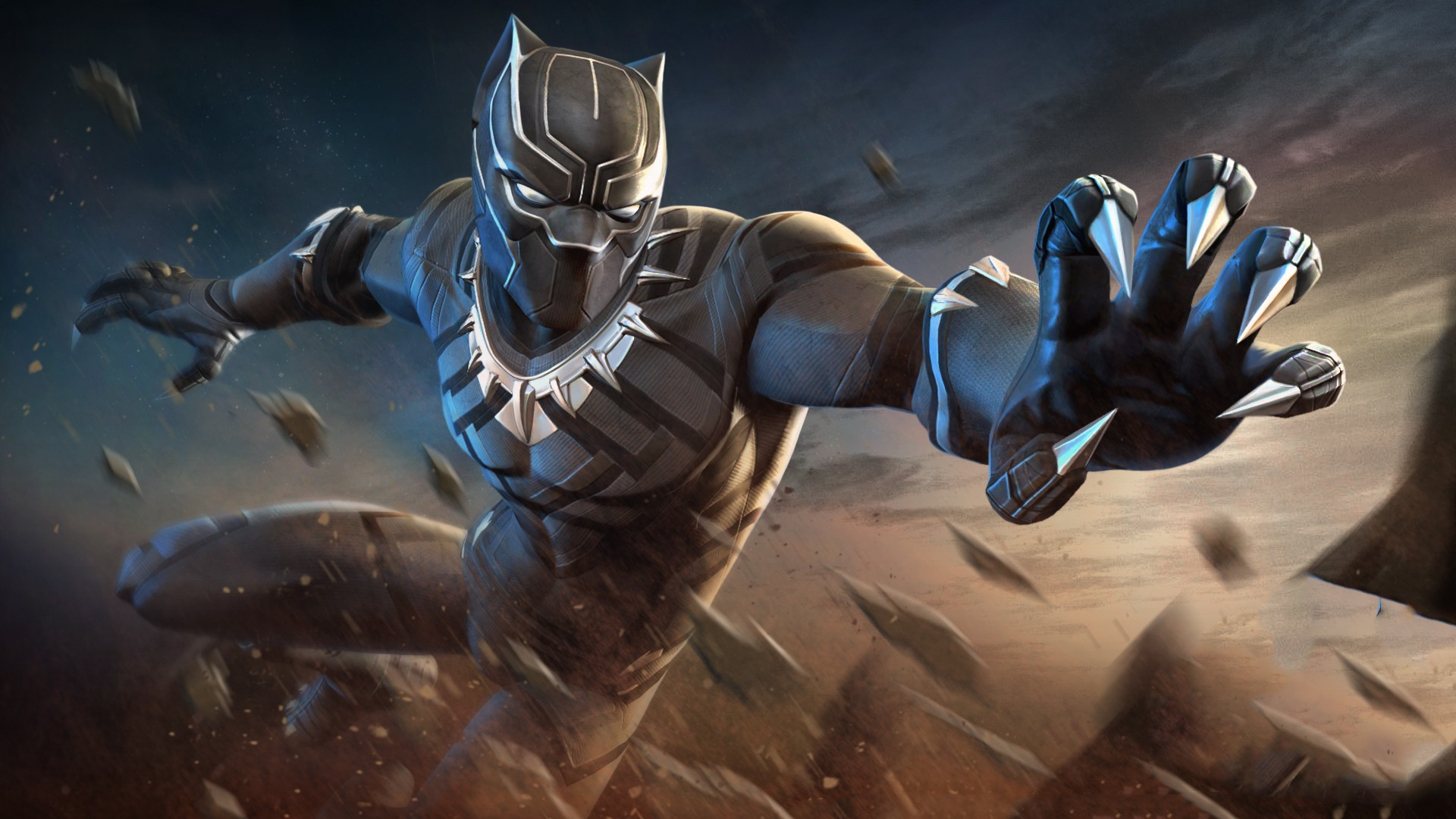 Black Panther Marvel Contest Of Champions Black Panther