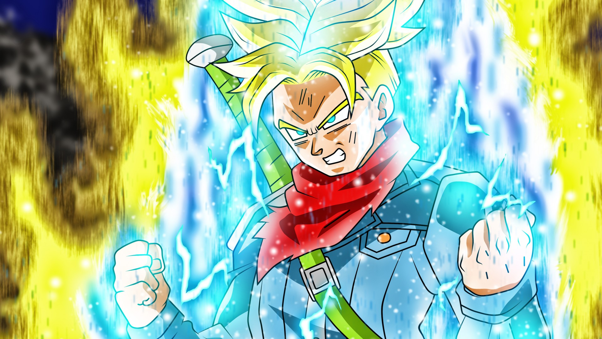 Download Future Trunks Erased Future Trunks Episode Future Trunks New Form 1349644 Hd Wallpaper Backgrounds Download