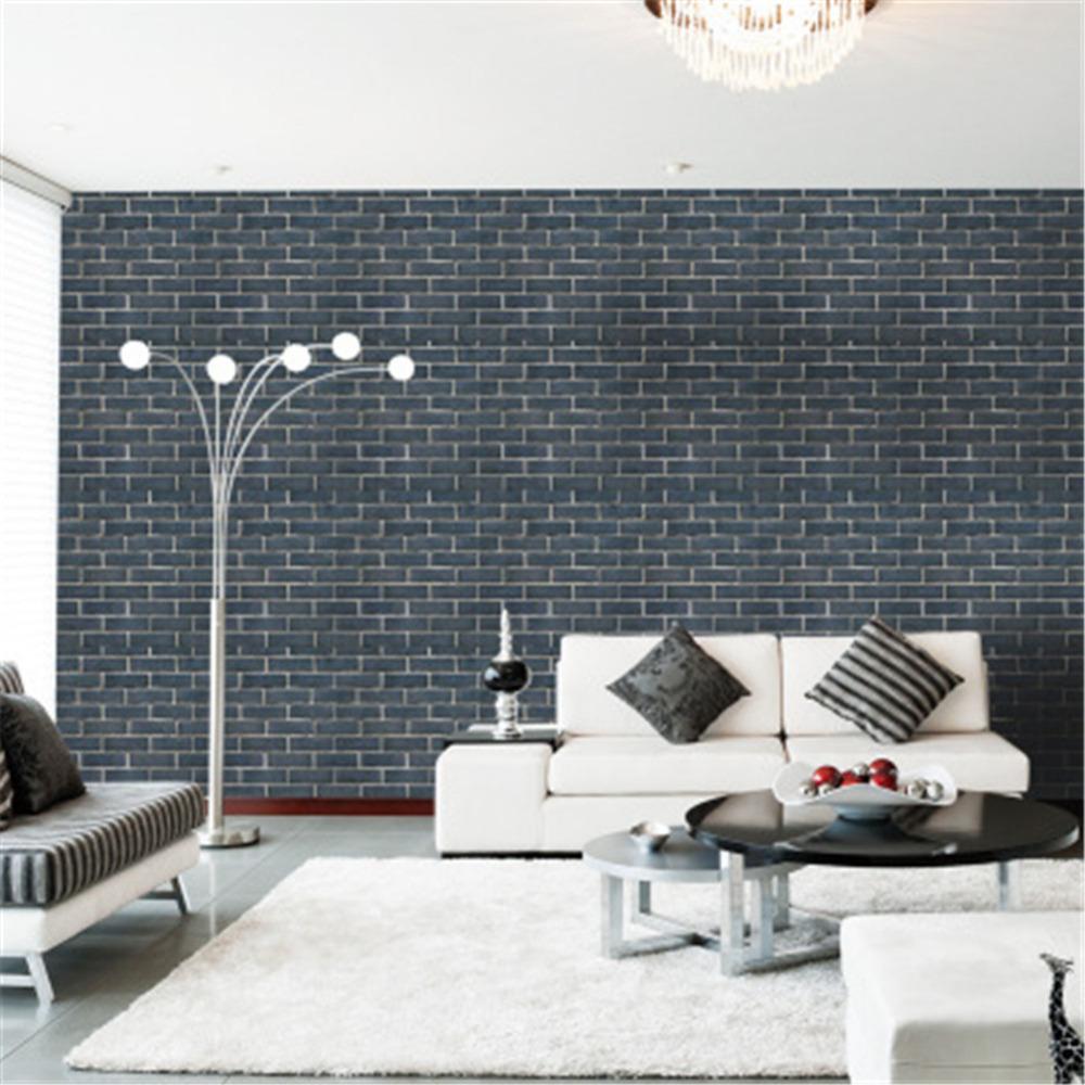 45x100cm 3d Wallpaper Decorative Wall Decals Brick Papel Parede