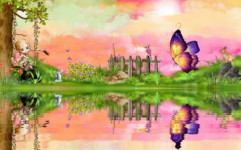 Nice And Cute Wallpapers Beautiful Drawing Of Nature 1351064