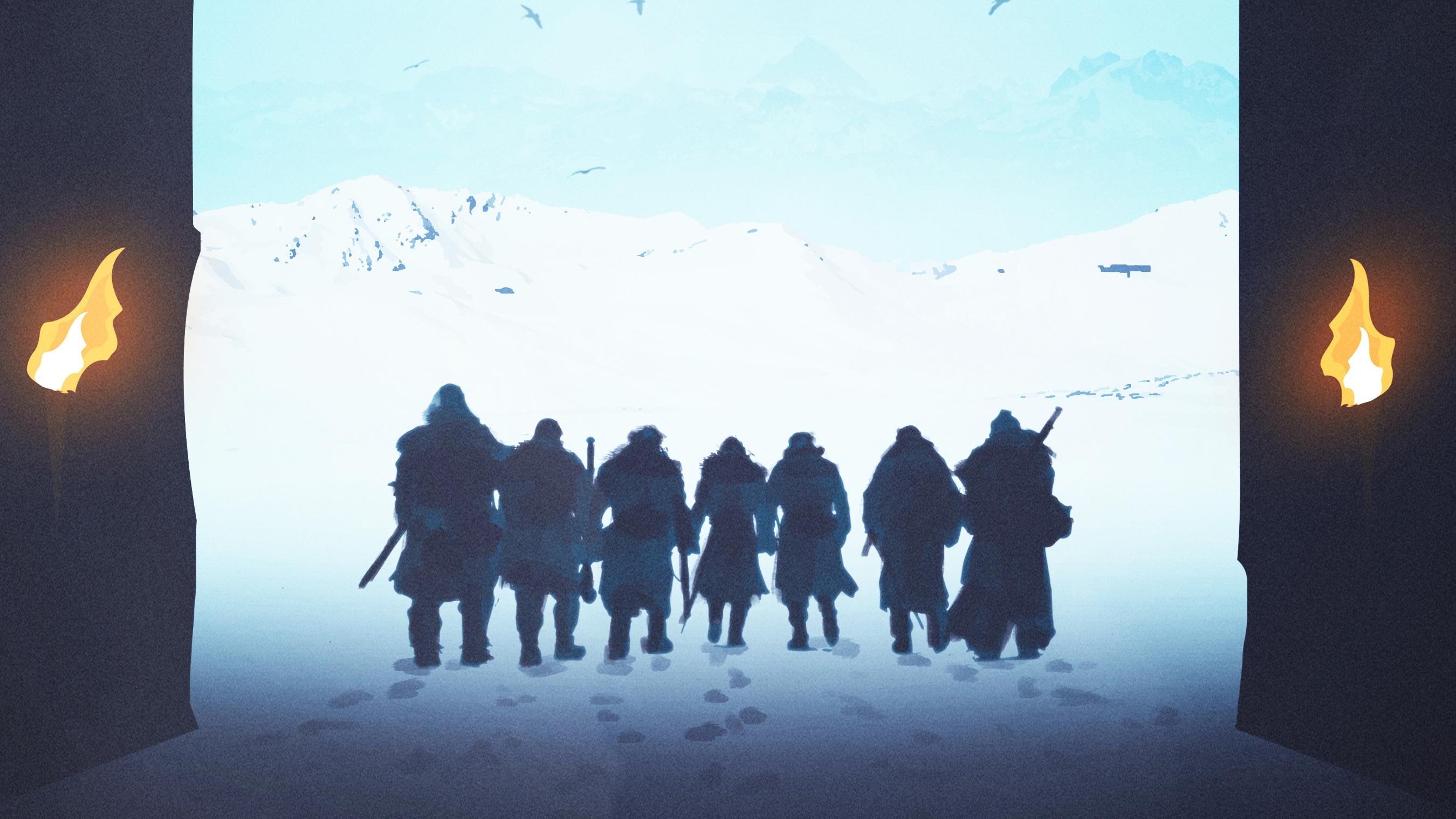 Sandor Clegane Gendry Beric Dondarrion Tormund Game Of