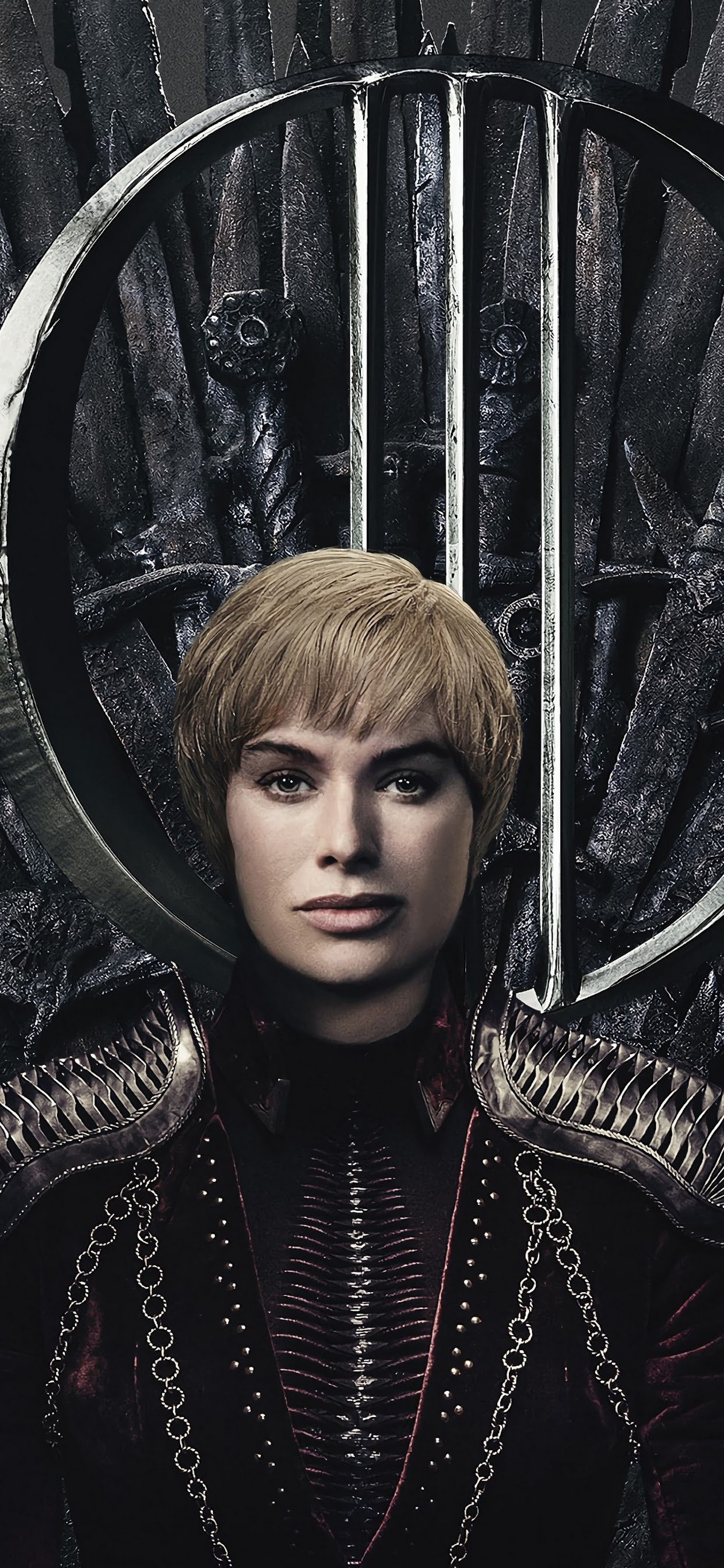 Iphone Xs Max - Game Of Thrones Season 8 Poster Cersei , HD Wallpaper & Backgrounds