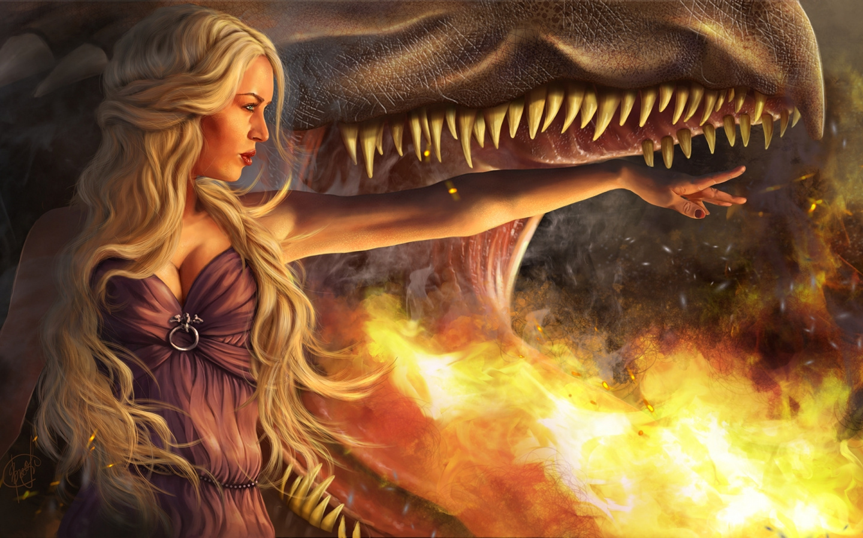 Cg Artwork, Dragon, Daenerys Targaryen, Mythology, - Fire Daenerys Targaryen Dragons , HD Wallpaper & Backgrounds