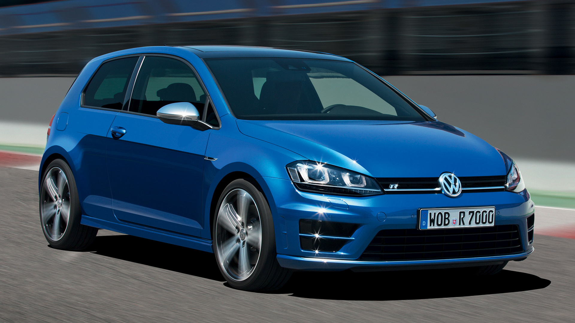 Hd 16 Volkswagen Golf 7 Stance 1355289 Hd Wallpaper